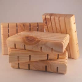 Soap Deck<br><small>Wooden Soap Dish</small>